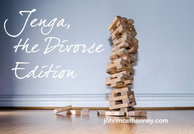 Read more about the article Rising Strong: Jenga, the Divorce Edition